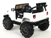 Dětské elektrické autíčko -džíp Wrangler s 2,4G DO bílá