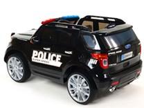 Dětské el. autíčko Policie super speed černá