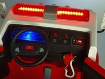 Dětské elektrické autíčko  hasičský vůz 4x4 s 2,4G ,maják