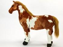 Plyšový kůň American Pain Horse veliko78 cm - HR78AP