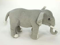 Plyšový stojící slon