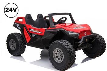 Dětská elektrická buggy Strength 4x4  s 2,4G DO - červená