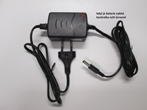 Nabíječka gelových baterií 6V (4,5 - 8Ah ) s kontrolkou nabíjení