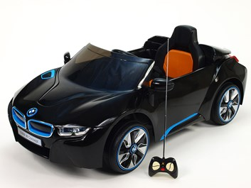 Dětské el. auto BMW I8 Concept LUX s 2,4G  DO černá