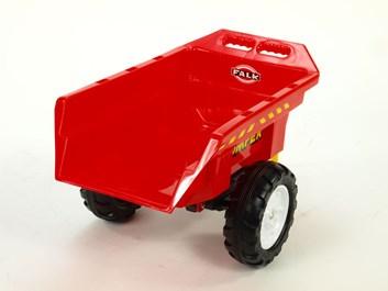 Vlek za traktor, výklopný,jednonápravový, délka 82cm