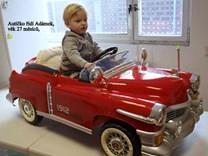 Dětské autíčko Retro KUBA NEW s ,4G DO  KB5018. red