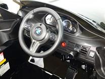 Dětské elektrické autíčko  SUV BMW X6M jednomístné černé