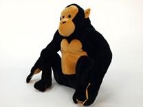 Plyšová sedící gorila