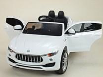 Dětské elektrické auto SUV 4x4(náhon všech 4kol) Maseratspeed s 2,4G dálkovým ovládáním  HL218.bílá
