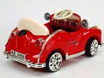 Dětské elektrické autíčko Kuba Retro mini s 2.4G DO, plynulým rozjezdem, LED osvětlením, hudbou SW2018.red