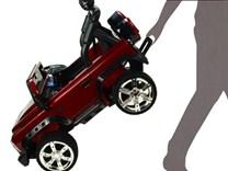 Dětské elektrické autíčko Džíp Courage s 2,4G DO -DKF006MET.red