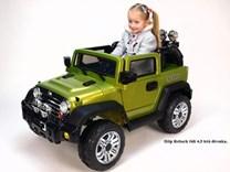 Dětský elektrický džíp Reback zelená