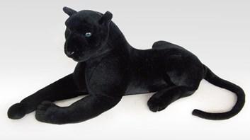 Plyšový ležící  černý panther