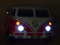 Dětské el. autíčko Volkswagen Transporter Samba bus s 2.4G DO -ABL1608.red
