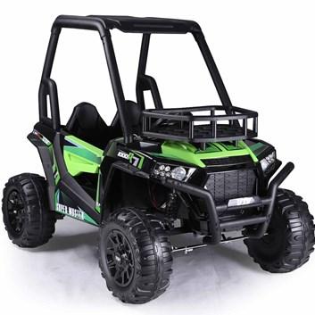 Buggy  pro 2 děti SUPER MUSTER  model  2021 ,  2 x 200W /24V - zelená