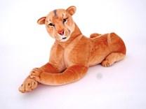 Plyšová ležící lvice