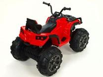 Dětská elektrická čtyřkolka Predátor s dálkovým ovládáním 2,4G BDM0906RC.red
