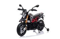 Dětská elektrická motorka  Aprilia Dorsoduro s EVA koly