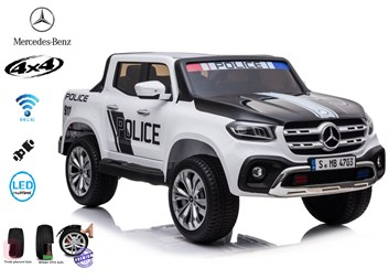 Mercedes  Benz X-Class POLICIE , 4x4, dvoumístný pick up  s 2.4G DO