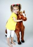 Plyšový kůň - velikost XL