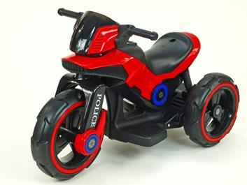 Dětská elektrická motorka VELKÁ 101cm,červená