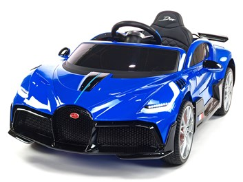 Dětské elektrické autíčko Bugatti Divo modrá