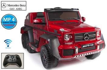 Mercedes Benz G63 s 6-ti motory a 2,4G DO, lakovaná červená barva