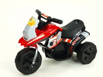 Dětská elektrická minimotorka  Racing červená