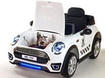 Dětské elektrické autíčko Morísek bílá