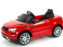 Dětské el. autíčko Licenční Range Rover EVOQUE červená levý bok