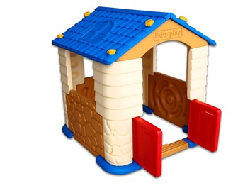 Dětský barevný plastový domeček  -  poslední kus