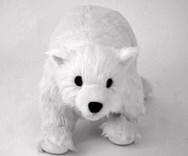 Plyšový polární medvěd