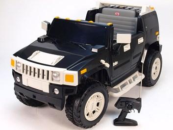Dětské el. auto Hummer černá