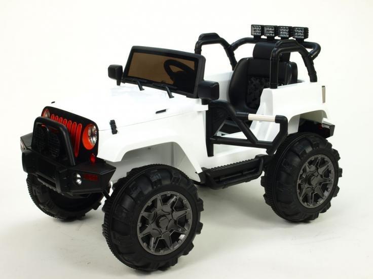 Dětské elektrické autíčko - džíp Wrangler