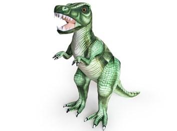 Plyšový Tyrannosaurus Rex  128 cm zelený