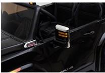 Dětské autíčko  GMC  Siera Denali  ve vínové metalíze