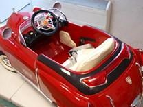 Dětské el. autíčko KUBA RETRO s nafukovacími koly