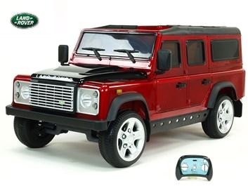 Dětské el autíčko Land Rover Defender s 2,4G DO, červená