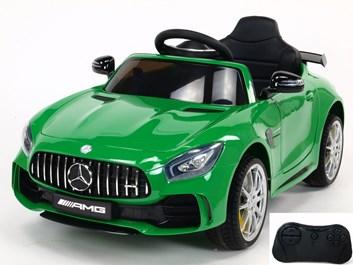 Elektrické auto Mercedes-AMG GT R zelené