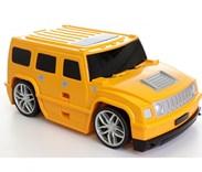 Dětský cestovní  kufr AUTO na dálkové ovládání 2,4GHz