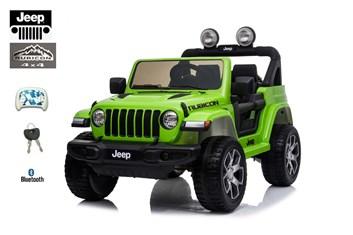 Dětský elektrický licenční Jeep Rubicon 4x4 zelený