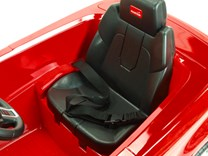 Dětské el. autíčko Licenční Range Rover EVOQUE červená sedačka
