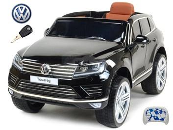 Dětské elektrické auto SUV Volkswagen Touareg s 2,4G DO lakovaná černá