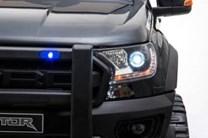 Dětské  dvoumístné el. autíčko SUV Rover  4x4 modrý lakovaný