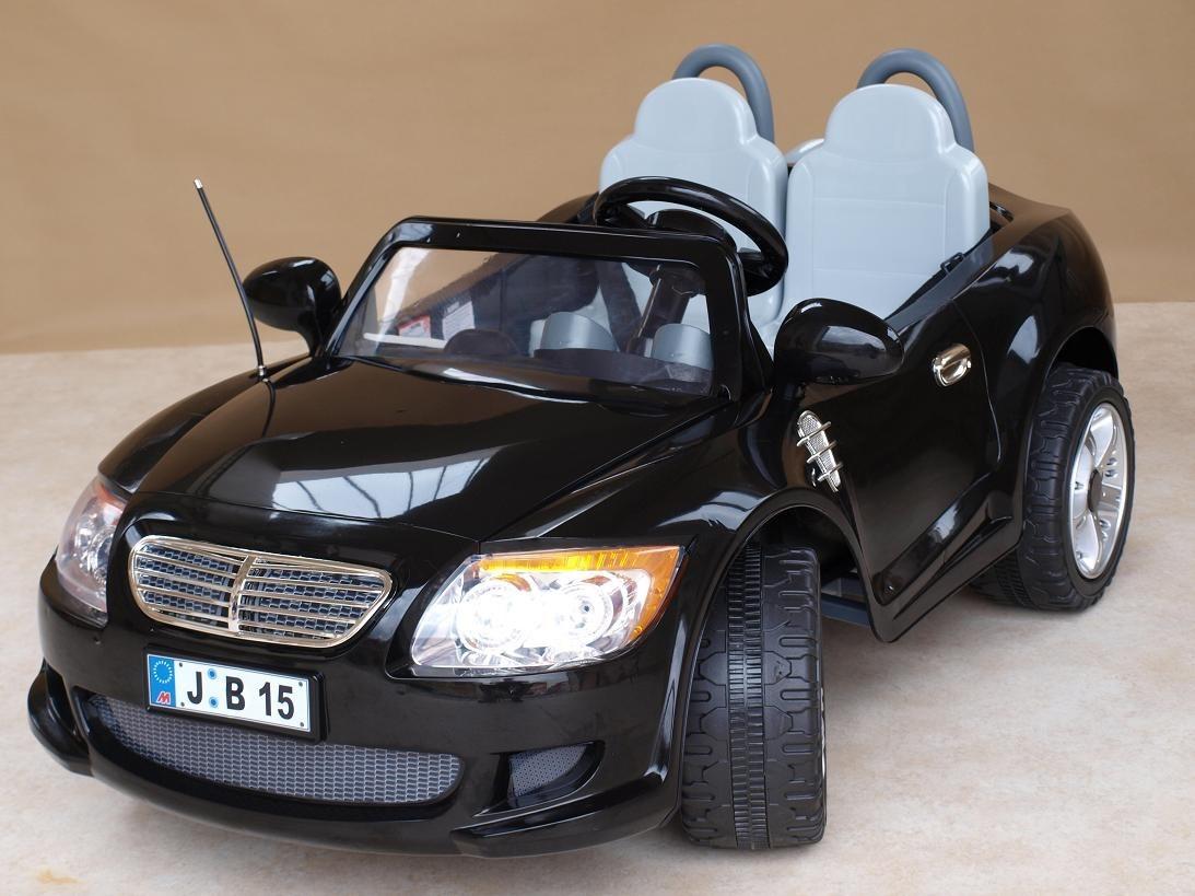 Dětské autíčko pro 2 děti s DO + FM