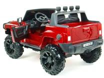 Dětské el. autíčko Dvoumístný Hummer Simba s 2,4G DO červená