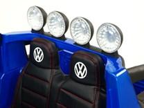Dětské el. autíčko Volkswagen Amarok 4x4 náhon všech kol, 2,4G DO - VWAmaroklak.blue