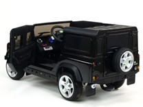 Dětské el autíčko Land Rover Defender s 2,4G DO, černá