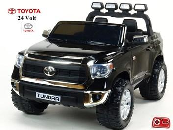 Dětské elektrické auto Toyota Tundra 24V s 2.4G DO, pro 2 děti , černá