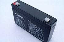 Gelová baterie pro dětská autíčka Vipow 6V/7Ah